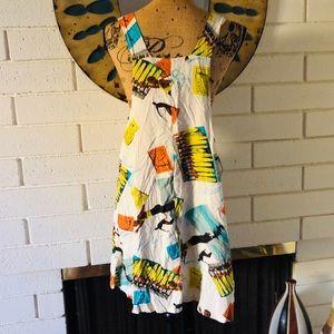 NWT Jams World Rare Waikiki Print Dress
